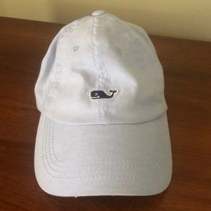 Baby blue vineyard vines hat